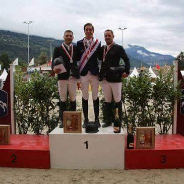Silber gewinnt der Luzerner Niklaus Rutschi auf Windsor